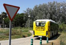 Nova línia d'autobús que connecta Castelldefels amb la nova terminal de l'Aeroport